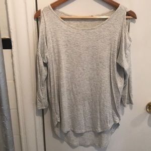 Papermoon shoulder cut out 3/4 sleeve